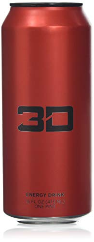 3D Energy Drink 473ml X 12 Red - Best Price