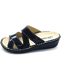 Cinzia Soft Scarpe Donna Pantofole IM2679GSDRY-S Nero Plantare Estraibile 43466d2d500