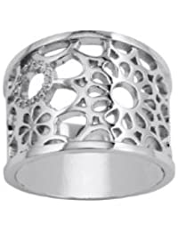 Bijoux pour tous  - Anillo de plata 925, talla 20