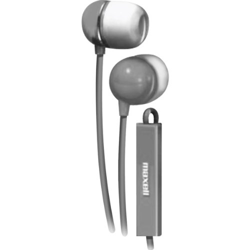 Maxell Headset, grau, 1,20 m Kabellänge -