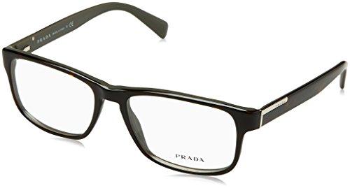 Prada Für Mann 07p Top Tortoise / Grey Kunststoffgestell Brillen, 56mm Prada Brillengestelle Männer
