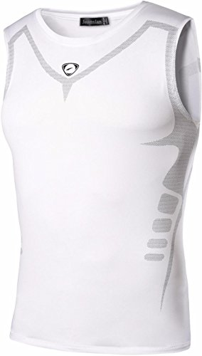 jeansian Men's Sport Quick Dry Sleeveless Men T-shirt Tank Tops Tees Vest LSL207