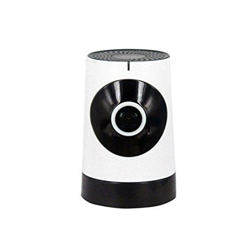 SpaceProTech Netzwerk Kamera Baby Monitor 720P Hochauflösendes Wi-Fi Wireless Mobile App Control Motion Detection 2-Wege Audio Talk mit SD Card Slot