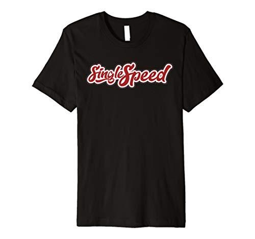 Singlespeed T-shirt für Fixie Bike, Mtb & BMX Geschenk