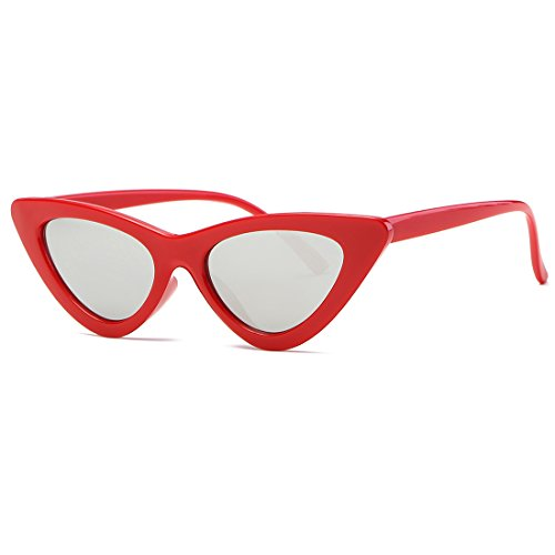 4BOZEVON Rétro UV400 Femmes & Hommes ovale Lunettes de soleil Goggles Noir-Noir C3 oivOZsfakE