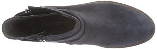 Gabor Shoes 51.652 Damen Kurzschaft Stiefel Blau (pazifik 16)