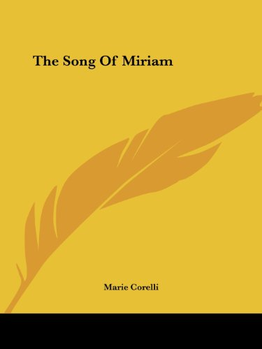 The Song Of Miriam Cover Image