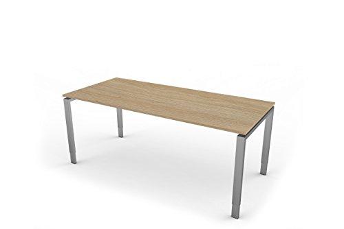 Kerkmann 4182da scrivania a forma di 5, 4di fuá della struttura in legno di rovere