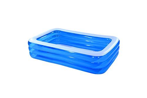 LYX® Aufblasbare Badewanne, Kind aufgepumpter Swimmingpool Familie sehr großer Ozean Ball Pool Verdickung Haushalt Familie spielen Pool Angeln Teich Baby Klettern den Pool (größe : 265cm)