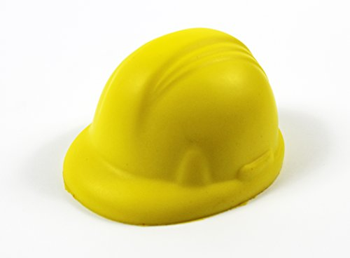 Stressball, Anti-Stress-Kombination Builders Hard Hat Form, Konstruktion DIY, ideal Geschenk für Website Arbeitnehmer/Hard Hat Kaufleute. Arthritis