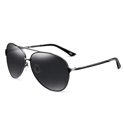 SJZV Sonnenbrillen für Männer Polarisiertes Licht Hochwertige Brille Geeignet für Fahren im Freien