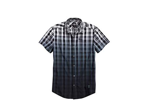 HARLEY-DAVIDSON Hemd Dip-Dye Plaid, L - Dye Plaid Shirt