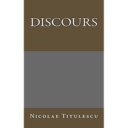 Discours (Auteurs roumains ecrivant en francais t. 2)