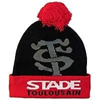 STADE TOULOUSAIN Bonnet Pompon Rugby