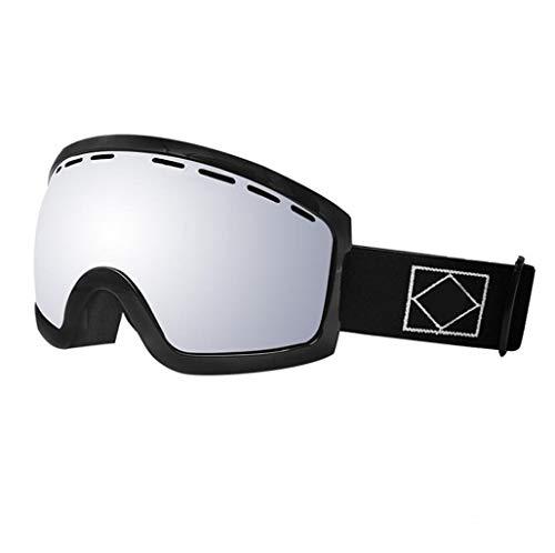 Skibrille Brille ausgestattet mit Brille Einzelschicht Erwachsene Jungen und Mädchen, die Winddicht Klettern (Farbe : E)