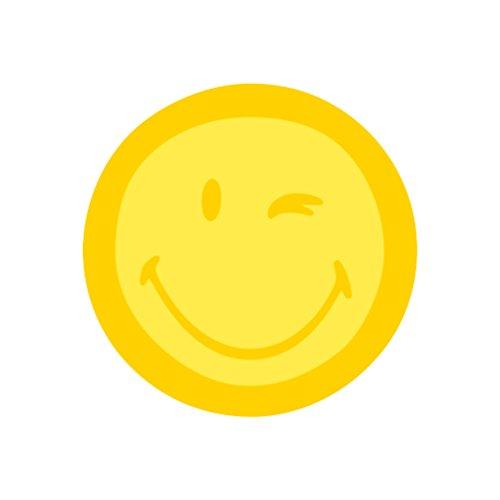 Herlitz 11369618 Haftnotizblock Smiley World, 70 mm, 75 Blatt, gelb