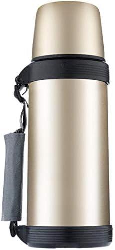FYCZ Vaso di Isolamento, Super Lungo Isolamento Grande capacità capacità capacità di Viaggio Pentola Sport all'Aria Aperta Bottiglia in Acciaio Inox 1.8L (Coloreee   oro) | Per La Vostra Selezione  | Ottima selezione  2a7b19