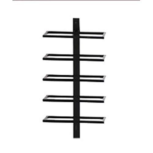QAZ Eisen Weinregal/Wand-Multi-Purpose Weinregal/Einfach und Stilvoll Geeignet für Bars, Wohnzimmer, Hotels, Restaurants (größe : 62cm) -