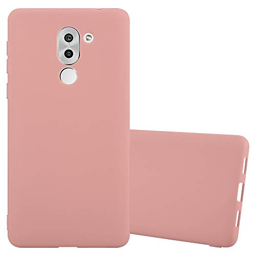 Cadorabo Hülle für Honor 6X - Hülle in Candy ROSA - Handyhülle aus TPU Silikon im Candy Design - Silikonhülle Schutzhülle Ultra Slim Soft Back Cover Case Bumper