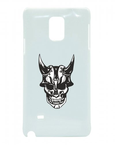 Smartphone Case teschio con Casco e corna vichinga Cavaliere scheletro rocker Club Gothic Biker Skull Emo Old School per Apple Iphone 4/4S, 5/5S, 5 C, 6/6S, 7 & Samsung Galaxy S4, S5,