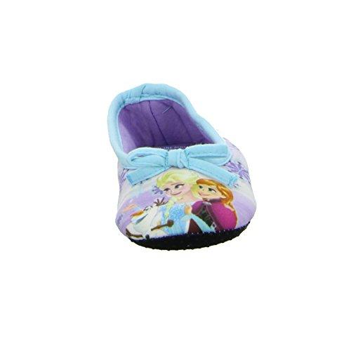 Frozen 143933 Mädchen Hausschuh Kaltfutter Blau (Lila)