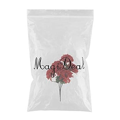 non-brand MagiDeal Flor de Crisantemo Ramo Artificial Cementerio Flores Decoración de Hogar