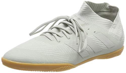 Adidas Nemeziz Tango 18.3 In J, Zapatillas de Fútbol para Niños, Gris Ash Silver/White Tint S18, 33 EU