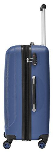Packenger Velvet Koffer, Trolley, Hartschale 3er-Set in Atlantikblau, Größe M, L und XL - 3