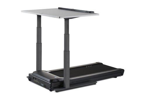 LifeSpan TR5000-DT7 Treadmill Desk/Schreibtisch Laufband (Holzkohle DT7c)