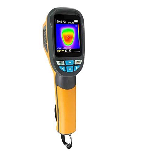 Elenxs 1024 Pixel portátil IR cámara de imagen térmica infrarroja digital cámara termográfica visual LCD Termómetro Resolución de la imagen del detector Rango -20 ℃ a 300 ℃