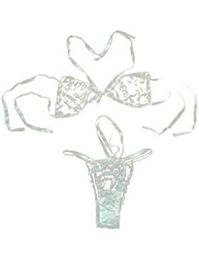 Ropa Interior Mujer, RETUROM Las mujeres del corsé encaje Push Up chaleco traje de ropa interior conjunto de sujetador...