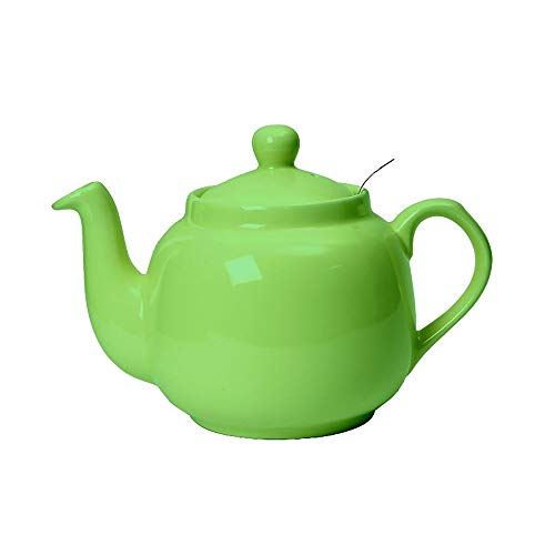 London Pottery 2 Cup Filter Teapot Green
