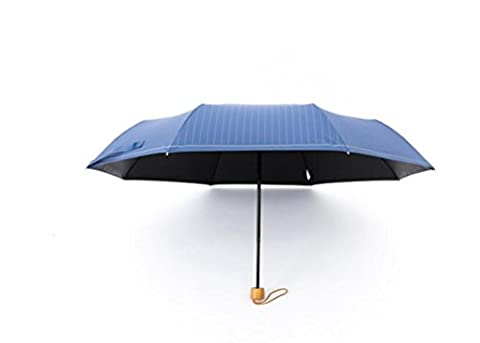 TYSlpl,Hommes et femmes, universel, simple parapluie, rayures, anti-UV, cadre d'entreprise,