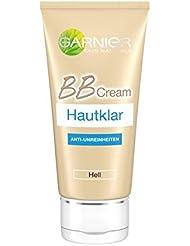 Garnier Hautklar BB Cream, Anti-Unreinheiten in Hell, All-in-One-Pflege bekämpft Pickel und Mitesser und deckt Hautunreinheiten ab, 50 ml