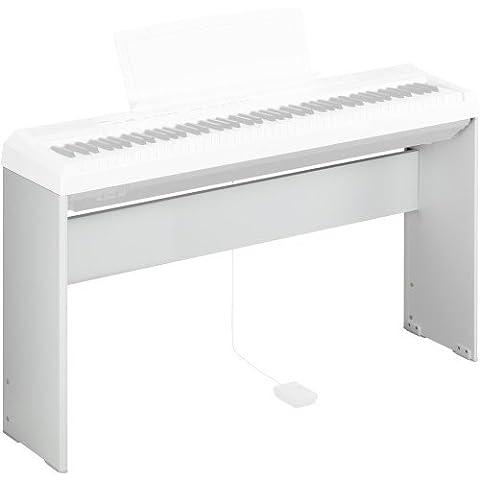 Yamaha - L85WHA - Support pour Piano/Clavier Numérique - Blanc