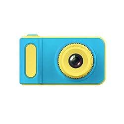 yiguanguan Digitalkamera für Kinder Kamera 2 Inch Bildschirm Rahmen mit wiederaufladbarem Fotorahmen-Mikrofon für Kinder-Videokamera (Blau, 80X45X40mm)