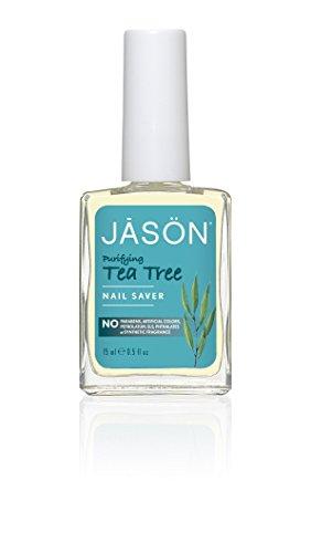 0.5 Unze Gel (Jason Natural Cosmetics Skin Care - Tea Tree Nail Saver - No More Pilz 0,5 fl. Unze. 207581)