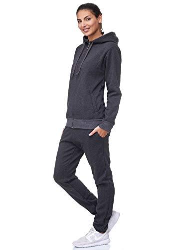 Damen Jogging-Anzug | Uni 586 | (L, Anthrazit)