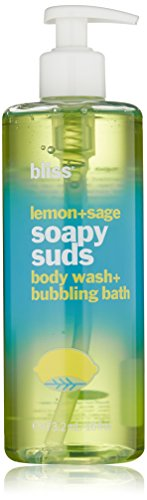 bliss Soapy Suds, Lemon & Sage 473 ml