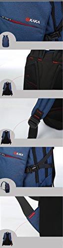 Outdoor peak donna Jungend impermeabile Oxford Laptop Zaino Scuola Libri zaino per la scuola moda tempo libero–Zaino pratica borsa da viaggio, Blau, Taglia unica Blau