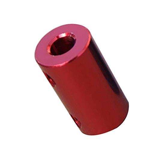 MagiDeal Acoplamiento de Eje Flexible de Aluminio Acoplador Rígido Conector de Motor - 3.17-5mm