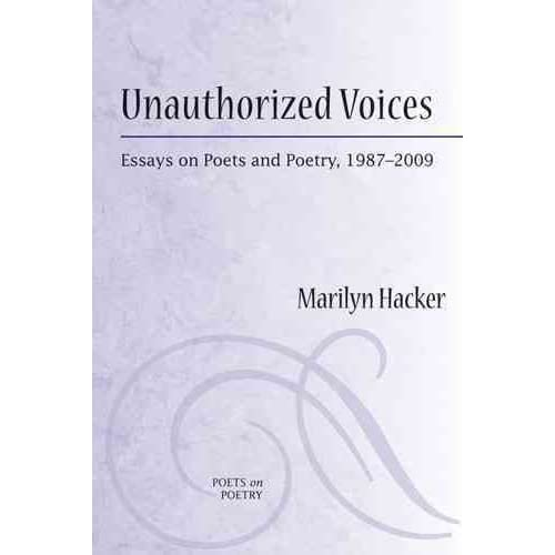 [Unauthorized Voices] (By: Marilyn Hacker) [published: November, 2010]