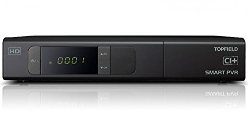 Topfield SRP 2401 CI+ Urban HDTV Sat Twin PVR inkl. 500 GB Festplatte, Android 4.2 mit 5m NA-Digital Netzwerkkabel