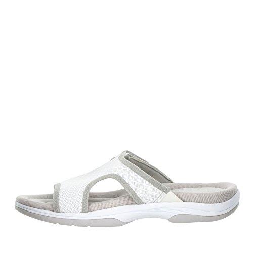 Easy Street Garbo Damen Schmal Maschenweite Sandale White/Grey