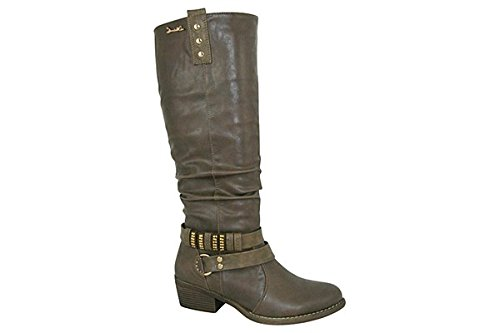Zanni and Co, Bottes pour Femme - - Brown (Dark), 6.5 UK