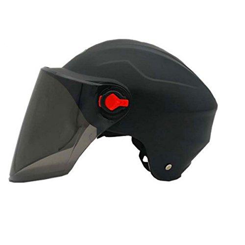 Helm Abseilen (TZQ Männer Und Frauen Universal Abseilen Klettern Umweltschutz Sonnenschutz Helm,Black-OneSize)