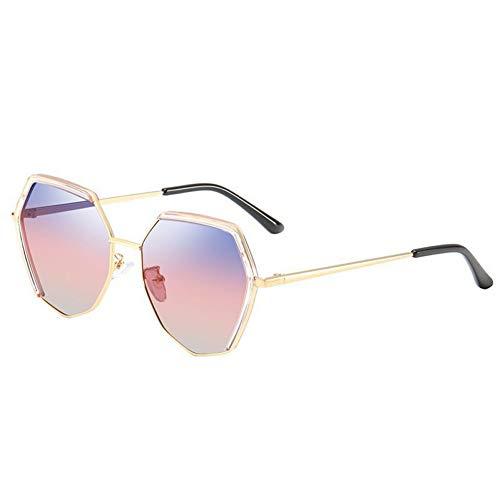 WSXCDEFGH Frauen-Sonnenbrille-Polygon-Sonnenbrillen, die Geschenk-Sonnenbrille für Frau Fahren