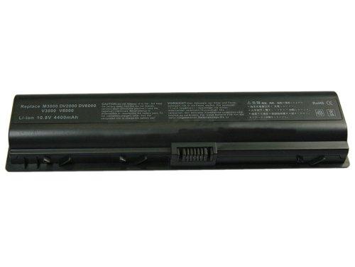 Mitsuru DV3000 Laptop Akku für HP-Compaq Presario DV6000/V3010/V3020/V3030/V3040/V3050/V3060/V3070/V6000 Serie 4400mAh schwarz (Hp V6000 Compaq Akku)