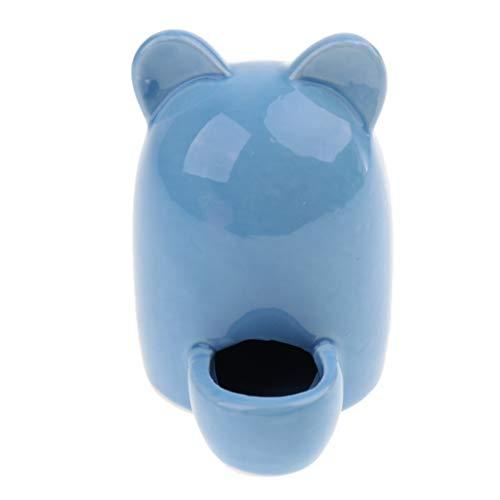 non-brand MagiDeal Automatisch Wasserspender Wasser Feeder Keramik Wassernapf für Hamster Ratten Meerschweinchen Frettchen