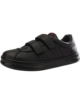 Camper Runner Black Leather Infant School Shoes